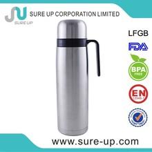 Office hot water stainless steel tumbler lid screw