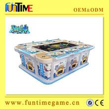 Funtime 6 player IGS Poseidon fish hunter arcade game,catch fish game machine