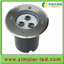 LED 100mm 3w 6500k Recessed light led underground 100mm, cut hole 94mm