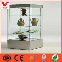 glass display furniture/ Showcase for bags and digital products