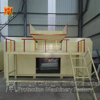 Low energy consumption twin shaft metal shredder