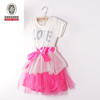 2013 new design fashion baby dress pure color babies party dresses for 1 year