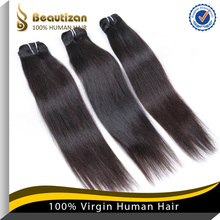 Fast shipping and durable virgin human 16 inches straight remy hair extensions