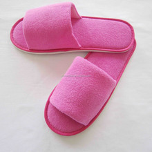 Slipper,Open toe or closed toe Type Personalized Disposable Slippers for Hotel Guests