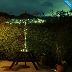 Exquisite1.2W high efficient solar panel The string lights work outside in Cold Weather at least 3 years life