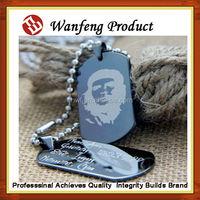 2015 New design Aluminum laser metal engrave military dog sex eu video tag adilia ,pet id tag