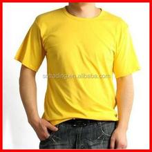 Blank organic preshrunk plain cotton t shirts