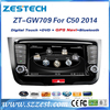 ZESTECH WINCE6.0+A8 CHIPSET 7 inch touch screen car dvd gps for Great Wall C50 2014 with dvd+radio+audio+stereo multimedia