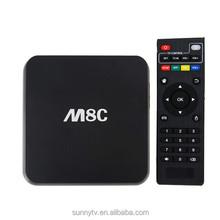 M8C M8 C Amlogic S812 kodi tv box 1gb ram 8gb rom better then mx3 tv box