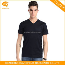 V-Neck Collar T-Shirt ,Wholesale T Shirt Blank ,T-Shirt Plain