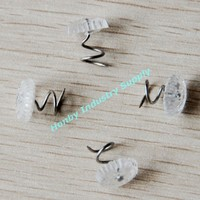 Nickle plated Clear head Upholstery Edge banding type twist pin