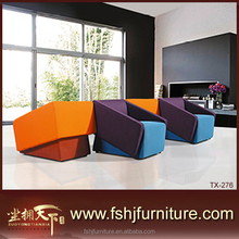 Made in China latest design high quality luxury italian fabric sofa American style sofa sets TX-276