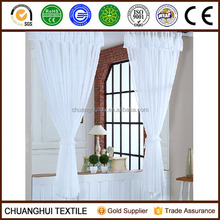 European style whitening pinch pleat drapes voile window curtains