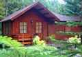 Barato modular pré-fabricada de madeira casa& de madeira pequena vila