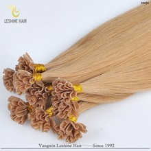 Ali Gold Supplier Excellent Quality Perfect Color Factory Price fashional trend nail tip virgin brazil hair