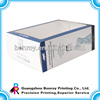 White paper packing boxes with PVC window
