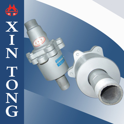 Double pass high performance aluminum alloy water/gas/steam rotary joint