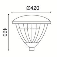 IP65 Modern Outdoor Waterproof Garden Lighting Fixture wholesale