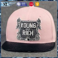 Factory sale special design standard 3d embroidery snapback hat on sale