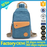 china factory supplier 2015 one strap backpack