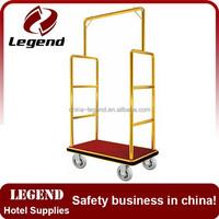 Handle brake airport trolley carts used baggage carts