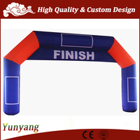 Customized inflatable arch rental, used inflatable arch price