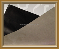 Factory Wholesale Rfid Signal Blocking Nickel Copper Magnetic Fabric Black Color/RFID Protection Fabric RFID Blocking