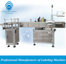 PLM-A Automatic adhesive sticker labeling machine for round shape