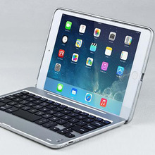 New M19 bluetooth keyboard with hard protective cover for ipad mini 2 / retina