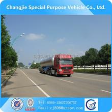 Good service provided Triaxial semi trailer LPG gas tanks truck price