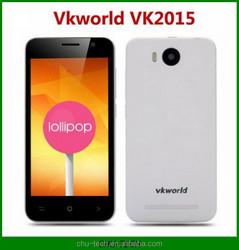 "Original VKWORLD VK2015 Smartphone MTK6582 Quad Core Android 5.0 QHD 4.5"" Screen 8MP 1GB+8GB 3G WCDMA Unlocked"