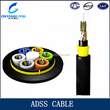 ADSS Cable Manufacturer ! Armored ADSS cable single mode/multi mode aerial adss fiber optic cable price per meter