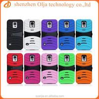 Belt Clip Holster Kickstand Dual Layer Hybird Phone case for samsung galaxy s5
