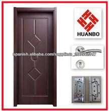 2014 nuevo interior puerta laminada pvc madera
