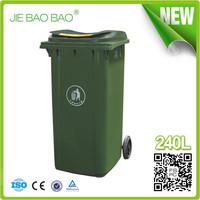 240 liter color coded plastic containers wheelie bin Outdoor Rubbish Bin