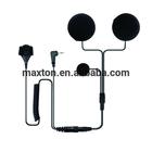 Moto capacete headset para uniden uh044sx mt06b-pu01