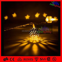 2015 bee waterproof led ball string light for outdoor decor