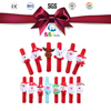 Christmas pretty ornament plush toys/at the top of the decoration