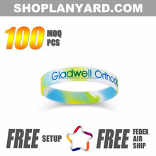 Promotional Sports Silicone Bracelets for events