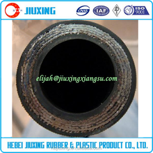 High pressure hose pipe / high pressure steel wire reinforced hydraulic rubber hose /