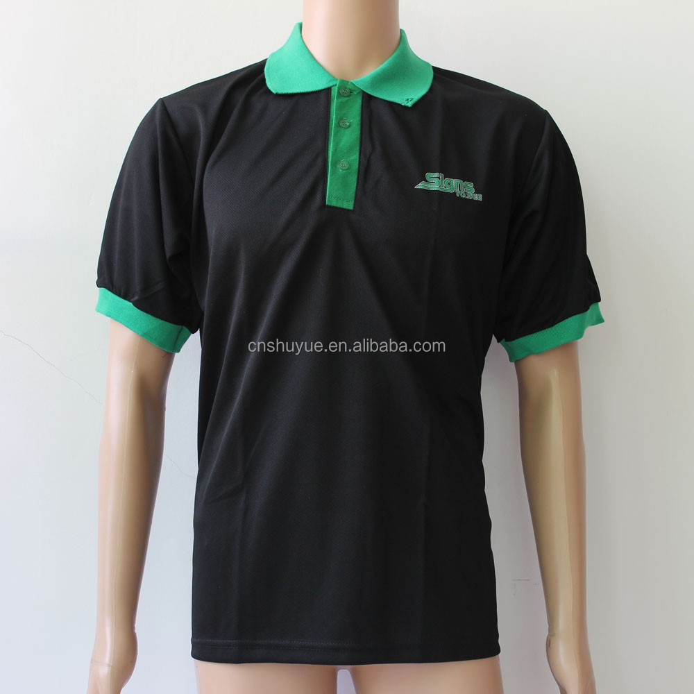 100 polyester dry fit polo shirt custom polo shirt for Custom dry fit shirts