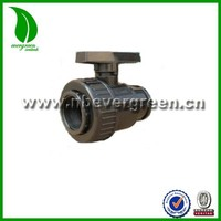 PVC PIPE FITTINGS SINGLE UNION BALL VALVE FOR AGRICULTUAL IRRIGATION