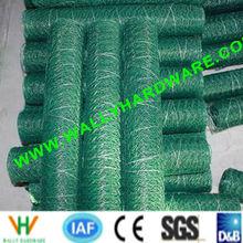 Pvc Coated Hexagonal/Chicken/Garden wire mesh(ISO9001:2000 factory)