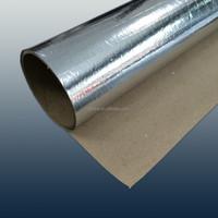 silver aluminum foil laminated kraft paper/ china manufacturer aluminum foil kraft paper laminate