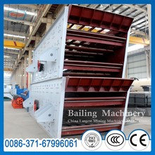 Double Deck Vibrating Screen For Screening Quarry Stone