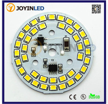 AC LED PCB integrated Driver SMD2835 AC230V Dimmable 9w PCB light