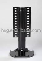 Hydraulic landing leg for caravan/hydraulic leveling system