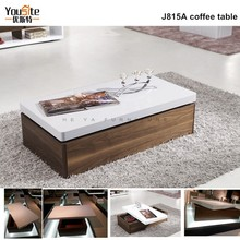 solid Functional wood coffee table