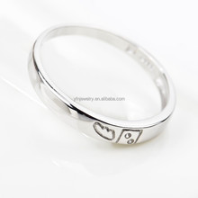 Simple and Unique Sterling Silver Ring Fashion Jewelry for Women