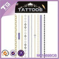 Oem Custom Design Tattoo,Latest Design Temporary Golden Tattoo Stickers,Japanese Tattoo Sleeve
